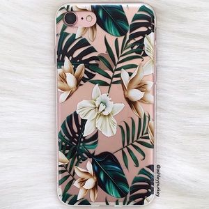 ❤️SALE❤️ tropical floral iPhone 6 7/8 Plus X case